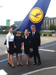 Bewerbung als Flugbegleiter
