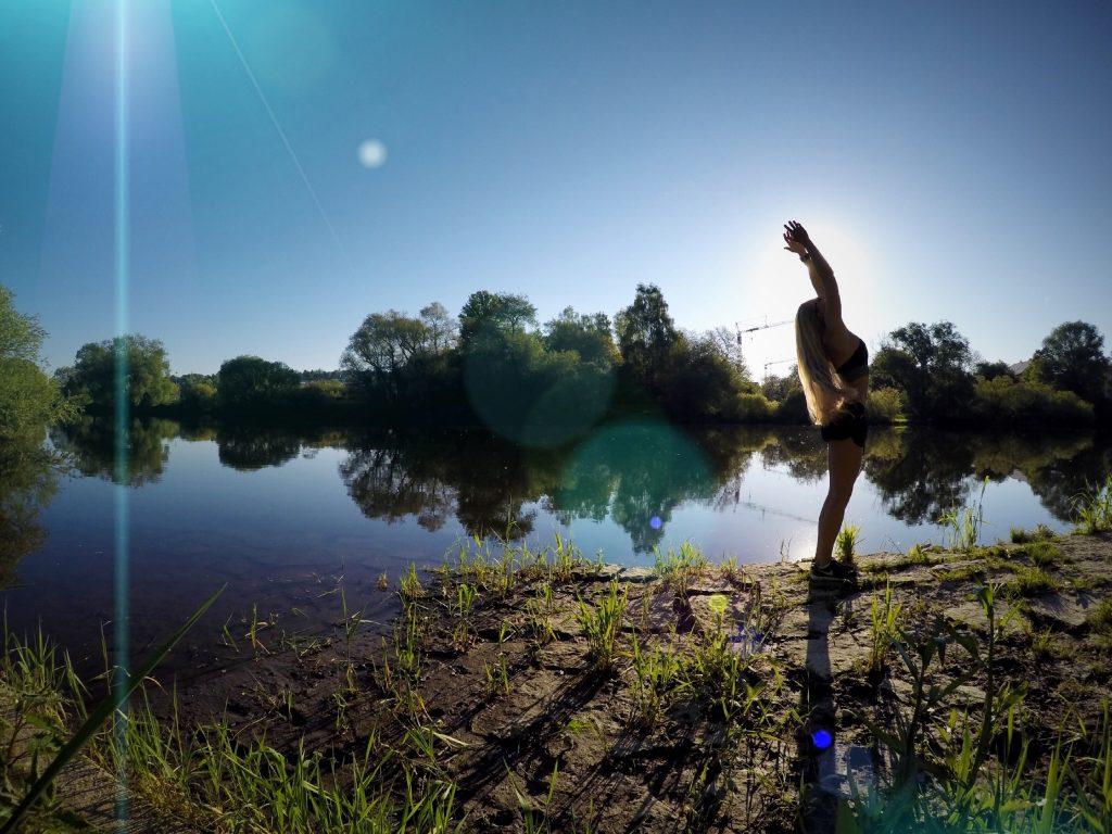 Morgen-Routine entwickeln yoga Regensburg flyingevi
