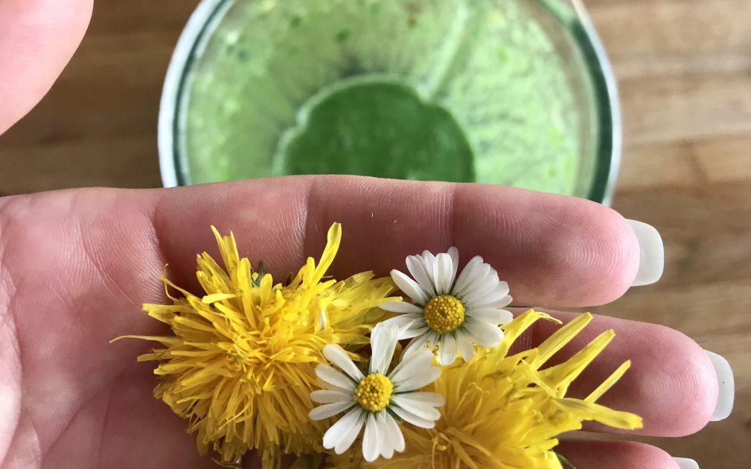 Grüner Smoothie, der nicht grün schmeckt