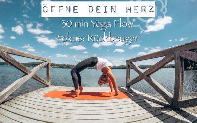 Yoga Blog – Herzöffnung durch Rückbeugen