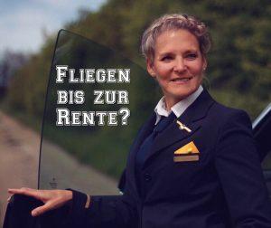 Flugbegleiter Fliegen bis zur Rente