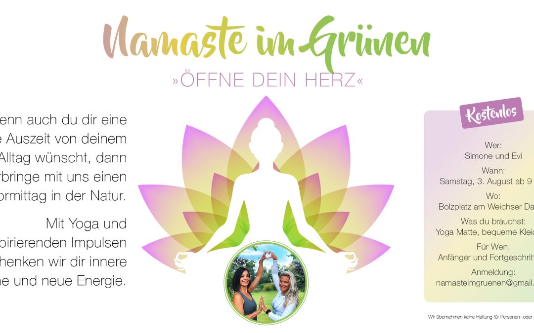 Outdoor Yoga Regensburg – Namaste im Grünen