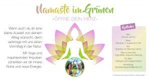 Outdoor Yoga Regensburg