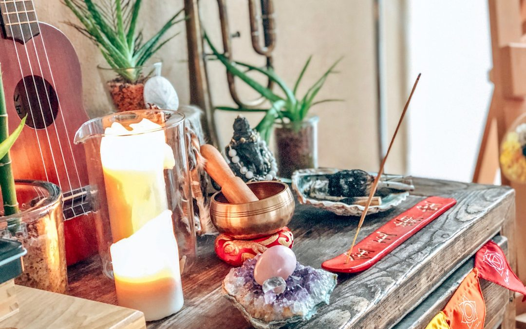 Yoga Blog – Altar gestalten