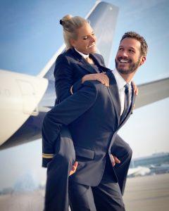 Flugbegleiter gesund
