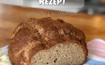 Lowcarb Brot Rezept – getreidefrei ballaststoffreich