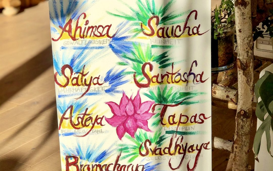 Yoga Blog – Yamas und Niyamas nach Patanjali – Achtgliedriger Pfad